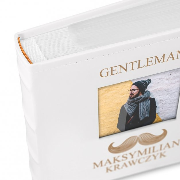 Album Na Zdjęcia GRAWER Prezent Gentleman