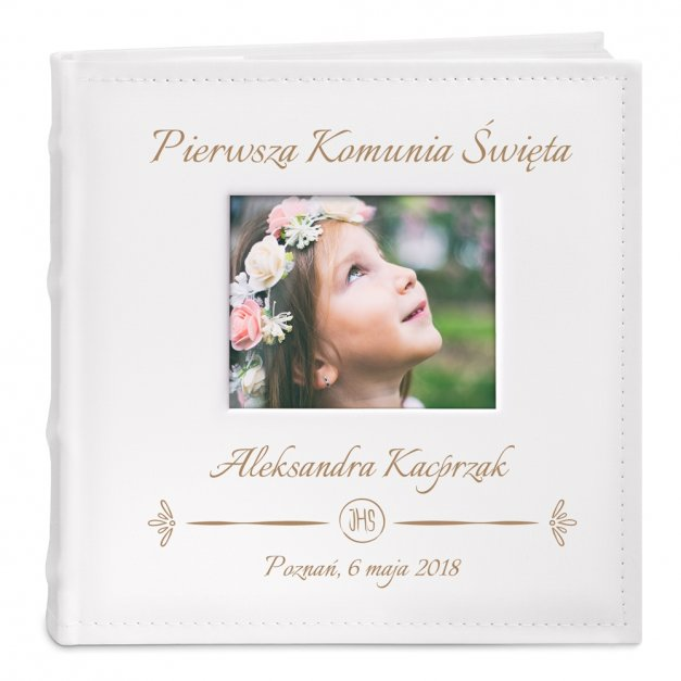 Album Pamiątka I Komunii GRAWER Prezent