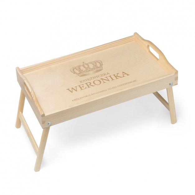 Personalizowany Stolik Śniadaniowy DLA ŻONY