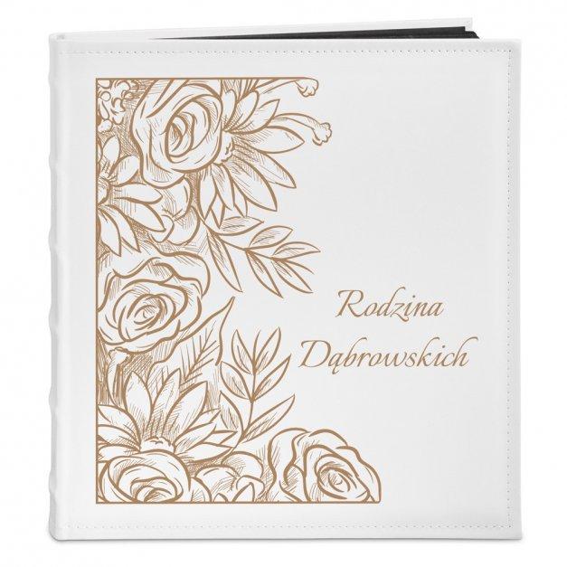 Album Rodzinny GRAWER Prezent Róże Rocznica