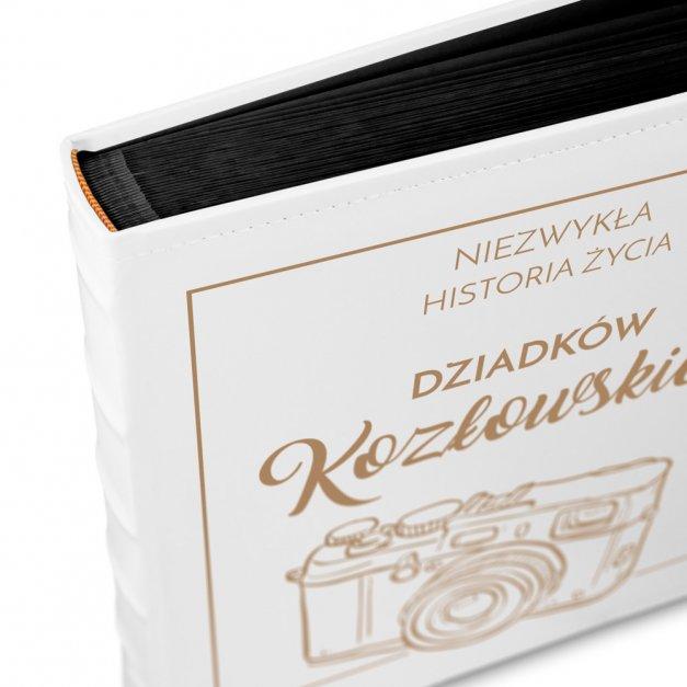 Album Na Zdjęcia GRAWER Retro Aparat Prezent